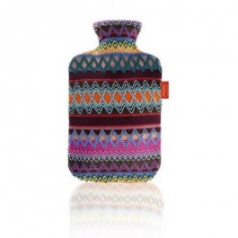 Fashy Hot Water Bottle with Cover Peru-Design