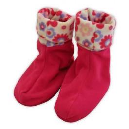 Floral pink Snugglesocks in gift bag