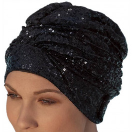 Ladies Black Swimming Cap