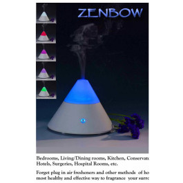 ZENBOW Aroma Diffuser with Changing Mood Lamp Comes with 3 FREE oils