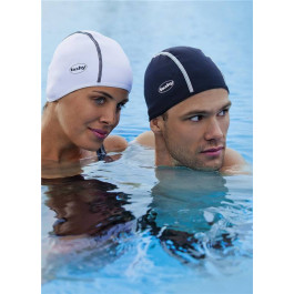 Fashy Long Form Bathing Cap - White