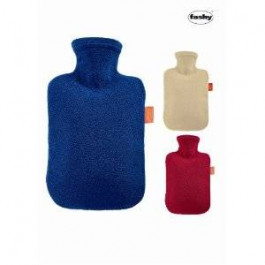 Fleece Covered Hot Water Bottle by Fashy