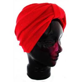 Fashy Hair Turban Towelling No Tying! Red