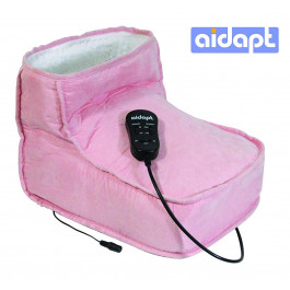 Aidapt Electric Foot Warmer and Massage Boot - Pink1