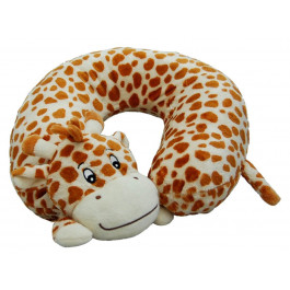 Inflatable neck pillow for kids travelling
