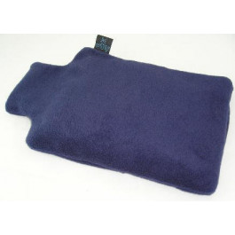 Natural Wheat Bag Unscented Hot Bottle Navy