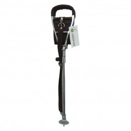 non leather seat stick shooting stick