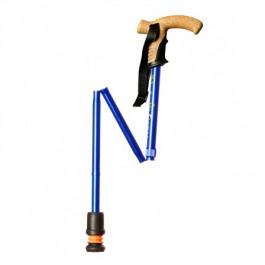 Flexyfoot Folding Walking Sticks in blue