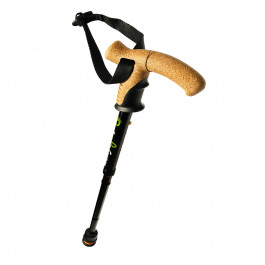 Flexyfoot Folding Walking Sticks in black finish