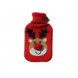rudolf animal hot water bottle