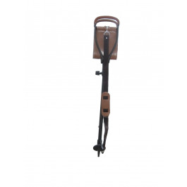 The Dash Lightweight Brown Finished Shooting Stick Adjustable