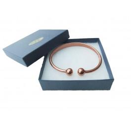 Copper Bracelet in Torque for women - Medium