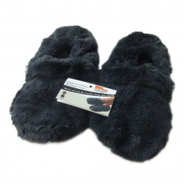 Microwave slippers for men - Large - Navy Blue
