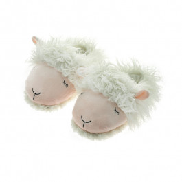 Aroma Home Fuzzy Friends Slippers - Lamb