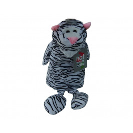 White Tiger Cute Plush and Cuddly Animal Hot Water Bottles