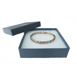 Unisex Magnetic Copper and Brass bracelet