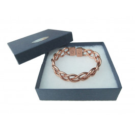 Heavy Lace Magnetic and Copper Bracelet