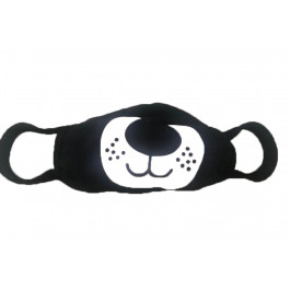 Face masks Black washable, re-usable, funny characters