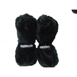 Men's Microwave boot slippers  - large black 7-11