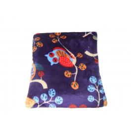 Hotties Microwave hot water bottle - Owl Fleece