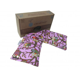 Hot and Cold Pack NON Lavender 100% Cotton Owl design