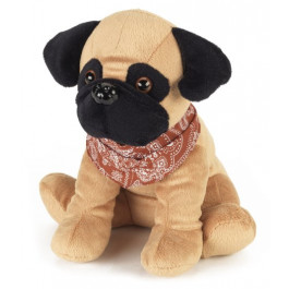 Intelex - Cozy Pets Microwavable Pug- Microwave teddy