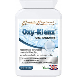 Specialist Supplements Oxy-Klenz Healthy Bowel Function 100 Capsules