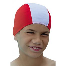 Childs Childrens Kids Fabric Swim Hat
