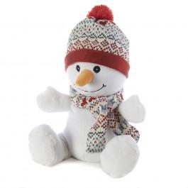 warmies cozy plush snowman toy