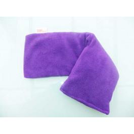 Purple fleece wheat bag no scent-T2KUW