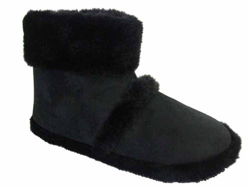 Men's Coolers Furry Ankle Boot Slippers 7 -12