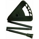 Flipstick folding adjustable shooting stick - 88-94cm LONG