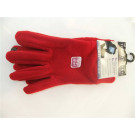 Ladies Fleece Touch Screen Gloves - Red