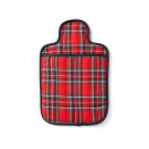 Microwave Hot Water Bottle - Hottie Red Tartan