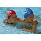 Children's swimming hat printed sealife designs