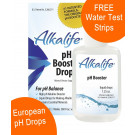 alkalife alkaline water drops with ph strips