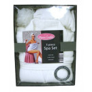 Country Club Glamour Essentials Luxury Bathrobe & Slippers Gift Set