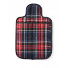 Microwave Hot Water Bottle - Hottie Blue Tartan