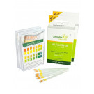 Simplex Health pH Test Strips pH 4.5 - pH 9.0 for Urine and Saliva