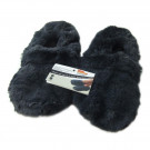 Microwave slippers Unisex size 3-8 - Navy Blue