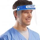 Amazing Health Protective Safety Shield, Visor, Anti Fog UK Seller - Blue (Pack of 1)