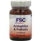 FSC Acidophilus & Prebiotic Fos 60 Veg capsules