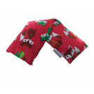Premium Hot and Cold Pack Non Lavender 100% Cotton Cute Foxes Design Microwave Wheat Bag