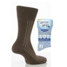 Mens Gentle Grip Patterned Socks
