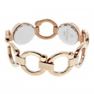 Bioflow Pirouette Magnetic Bracelet Standard 180mm - Rose Gold finish