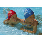 Children's swimming hat printed sealife designs