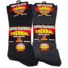 Men's non-elastic thermal socks - 3 pairs