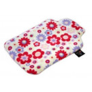 Hot Wheat Bottle Flowers Fleece