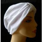 White Towelling Hair Turban