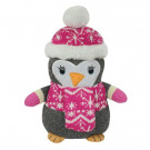 Aroma Home Knitted Snuggle Penguin Teddy -
